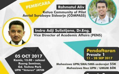 Seminar Nasional Drone 2017 HIMATIFA
