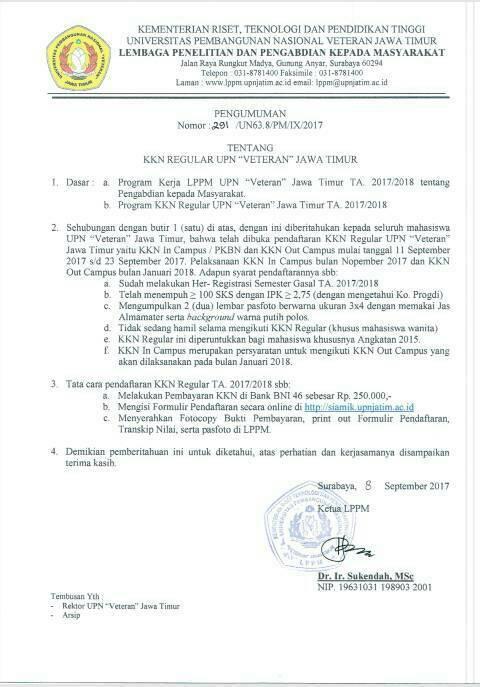 [Updated] Info Pendaftaran KKN