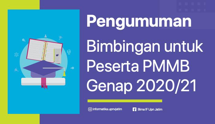 [BARU] Pengumuman Bimbingan Program Magang Mahasiswa Bersertifikat (PMMB) Genap 2020-2021